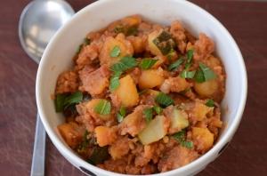 Armenian Lentil-Apricot Stew