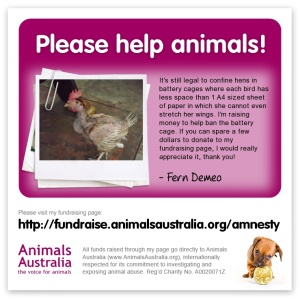 Help Free Hens From Cruelty